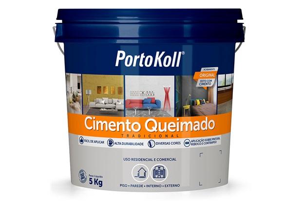 Cimento Queimado Geada 5kg - Portokoll
