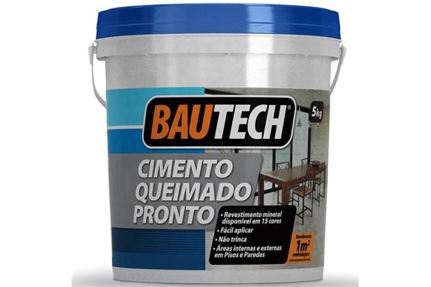 Cimento Queimado Pronto Branco 5kg - Bautech