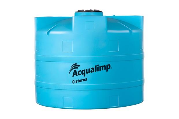 Cisterna em Polietileno 10.000 Litros Azul - Acqualimp