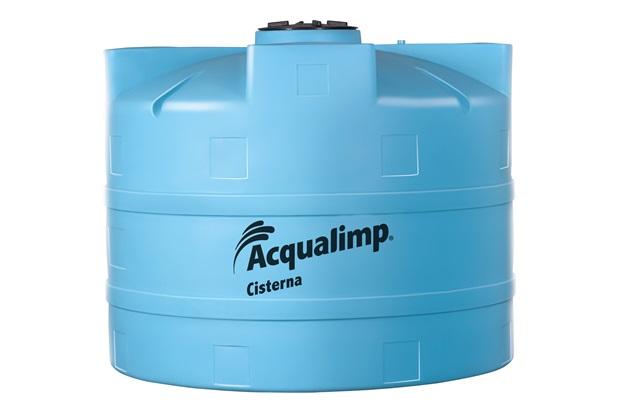 Cisterna Equipada para Rede Pública 2800 Litros com Bomba 110v Azul - Acqualimp