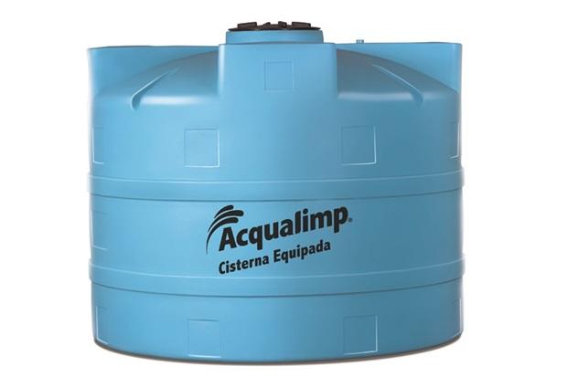 Cisterna Equipada para Rede Pública 2800 Litros com Bomba   - Acqualimp