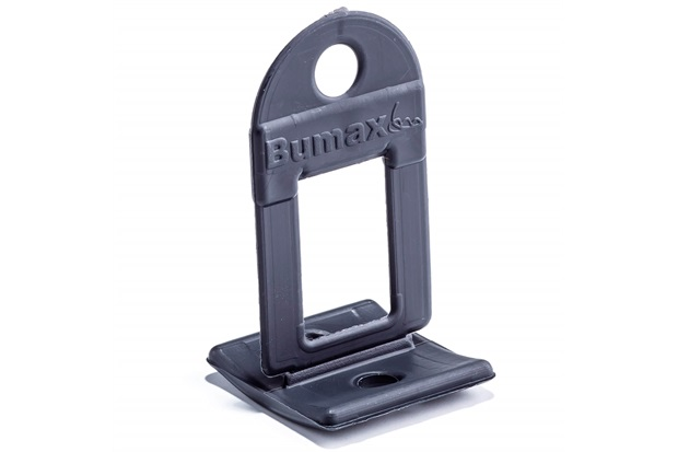 Clipe Espaçador N5 em Plástico 1,5mm com 50 Peças - Bumax