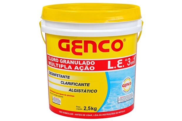 Cloro 3 em 1 Multiação 2,5kg - Genco