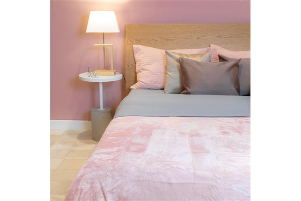 Cobertor de Casal Cozy Waves Rosa 180x220cm - Casa Etna