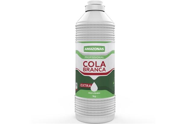 Cola Branca Extra 1kg - Amazonas