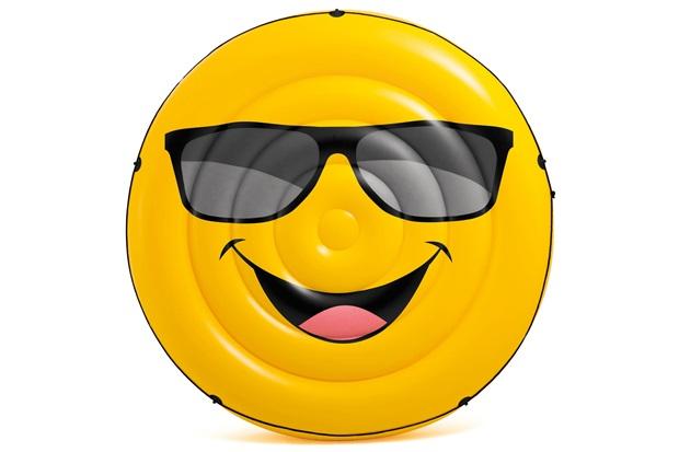 Colchão Inflável para Piscina Emoji - Intex