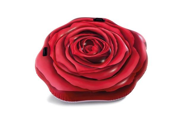 Colchão Inflável para Piscina Rosa Vermelha - Intex