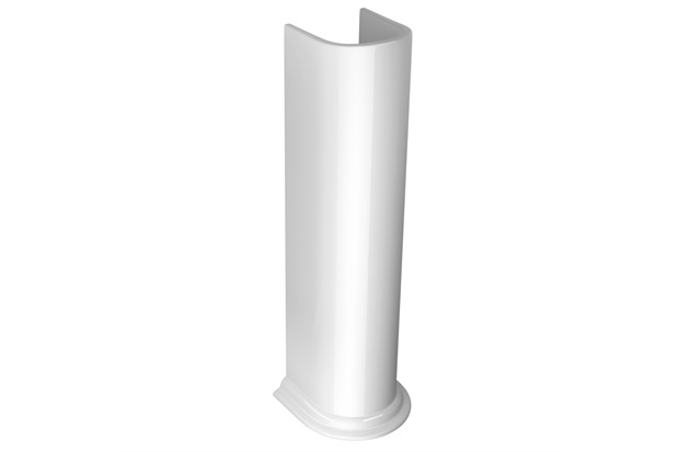 Coluna para Lavatório Belle Époque Branco Gelo C2 - Deca