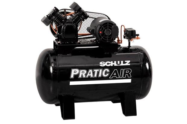 Compressor de Ar de Pistão Csv 10/100 Monofásico 220v Preto - Schulz