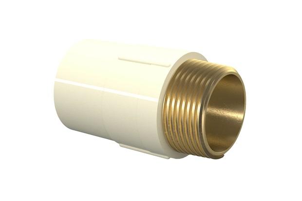 Conector Aquatherm 1/2''X15mm Bege - Tigre
