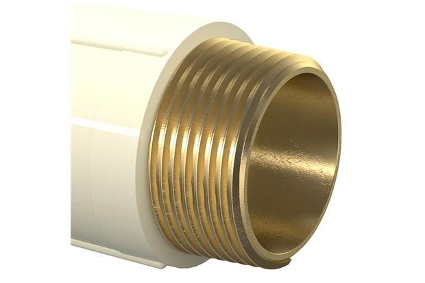 Conector Macho Aquatherm 3/4''X22mm Bege - Tigre