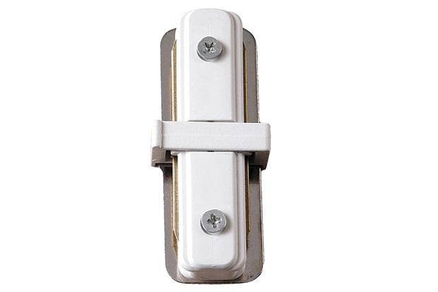 Conector para Trilho Elétrico Tipo I Branco - Bronzearte