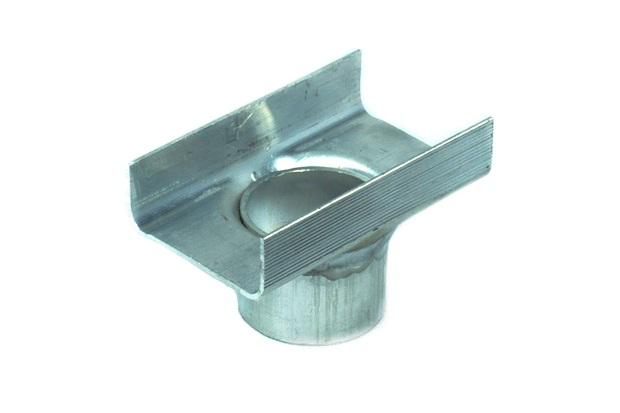Conexão para Ralo Linear em Alumínio Seca Tudo Central para Baixo 45mm - Aminox