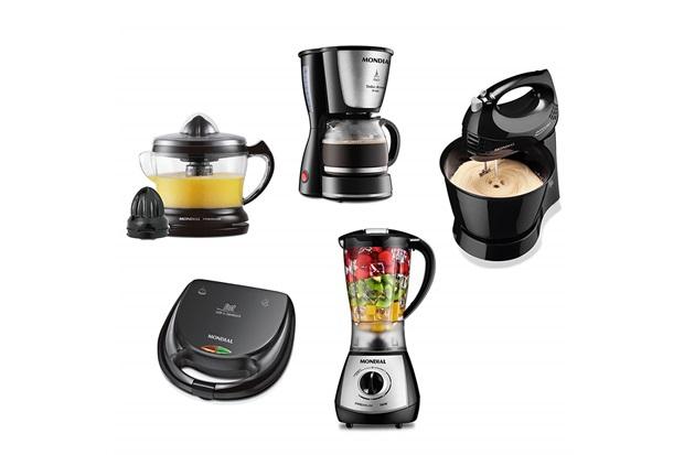 Conjunto Especial Cozinha Completa 220v Preto E Inox - Mondial