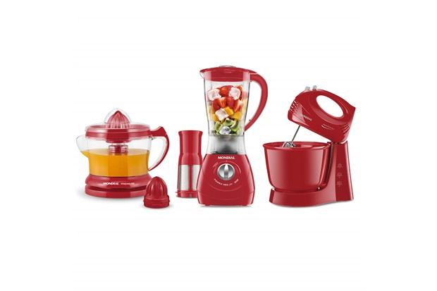 Conjunto Especial Kit Gourmet Red 2 220v Vermelho - Mondial