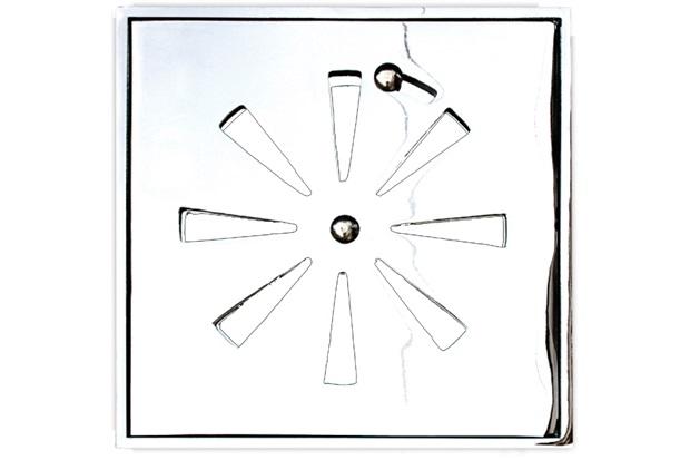 Conjunto Grelha Quadrada 15cm Alumínio Polido - Costa Navarro
