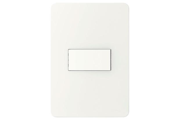 Conjunto Interruptor Simples 10a 250v Orion Branco - Schneider