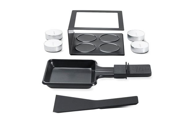 Conjunto Raclette 7 Peças Preto - Brinox