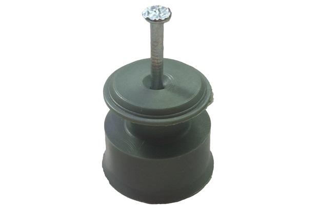 Conjunto Roldana E Prego 5 Peças 30x30cm Verde - Kit-Flex
