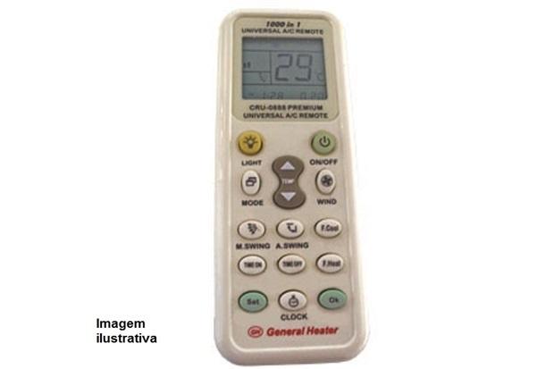 Controle  Remoto Universal para Ar  Ref.:Cru 0888        - General Heater