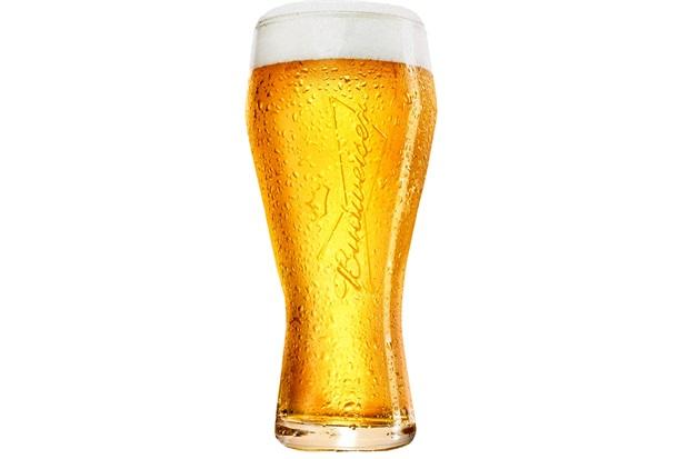 Copo para Cerveja em Vidro Budweiser 400ml Transparente  - Ambev