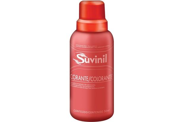 Corante Líquido Vermelho 50ml - Suvinil