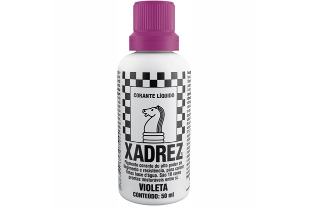 Corante Líquido Xadrex Violeta 50ml - Sherwin Williams