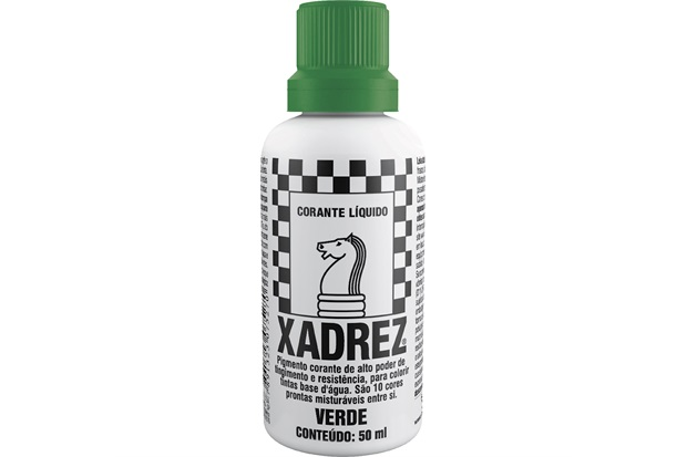 Corante Líquido Xadrez Verde 50ml - Sherwin Williams