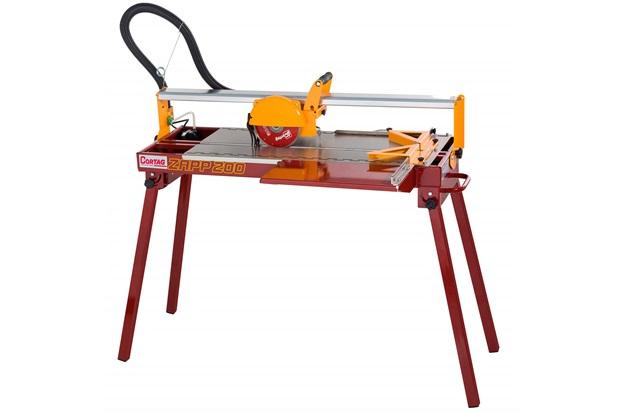 Cortador Elétrico de Piso E Porcelanato 900w 220v Zapp 200 Vermelho E Amarelo - Cortag