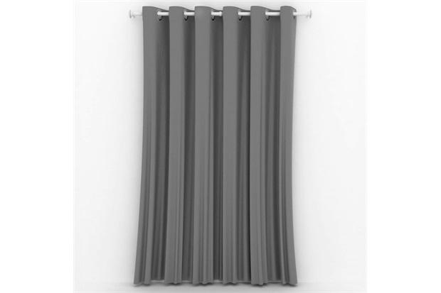 Cortina em Poliéster Blackout Blend Nude 420x250cm - Casa Etna