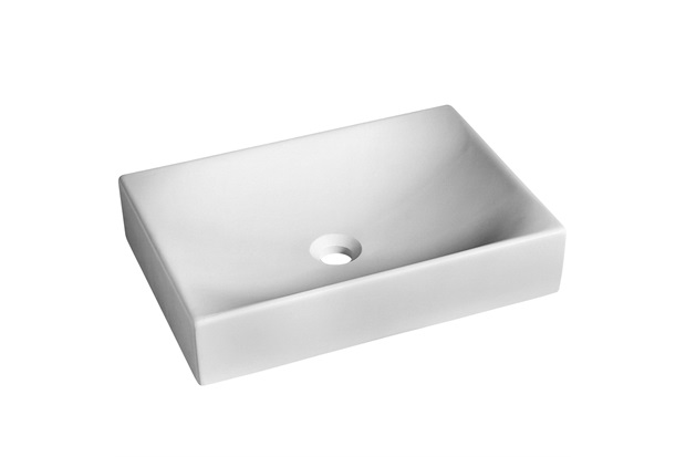 Cuba de Apoio para Banheiro Quattro Inverno Branca 50,5x35,5cm - Incepa