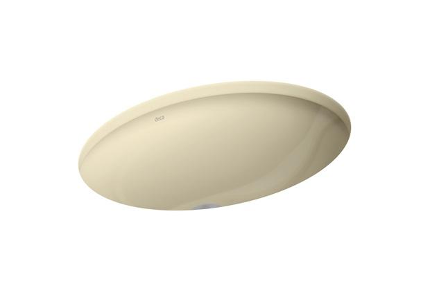 Cuba de Embutir para Banheiro Oval Deca 40x30 Cm Creme Ref.: L59  - Deca