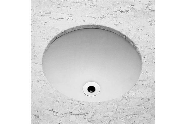 Cuba de Embutir Redonda 36,5cm Branca - Celite