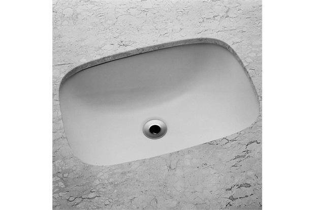 Cuba de Embutir Retangular 50,5x37cm Branca - Incepa