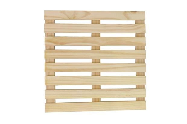 Deck em Pinus 100x100cm - Super Max
