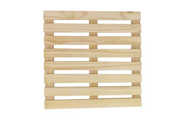 Deck em Pinus 50x50cm - Super Max