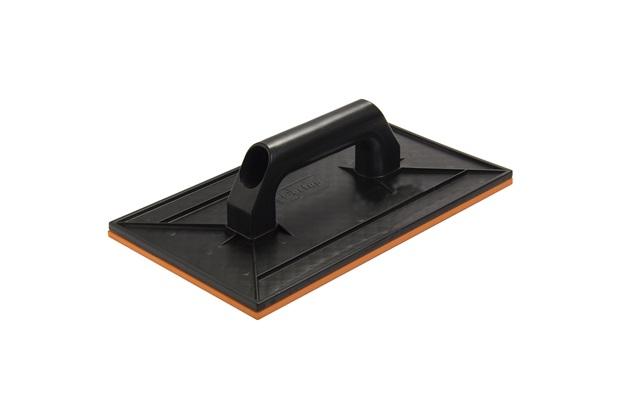 Desempenadeira Plástica com Borracha Cabo Plástico Preta 30x18cm - Cortag