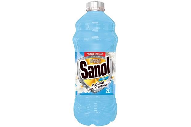 Desinfetante Leitoso Talco 2 Litros - Sanol