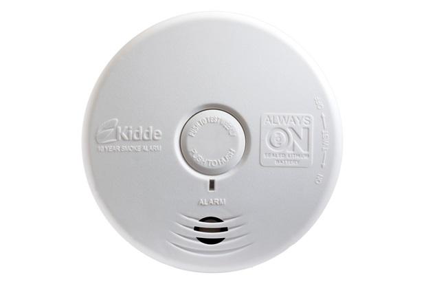 Detector de Fumaça para Quarto E Sala Branco  - Kidde
