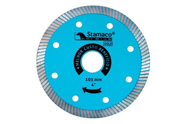 Disco de Corte Diamantado para Porcelanato 4'' Azul - Stamaco