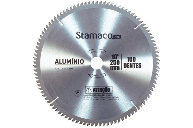 Disco de Corte para Alumínio 250mm com 100 Dentes - Stamaco