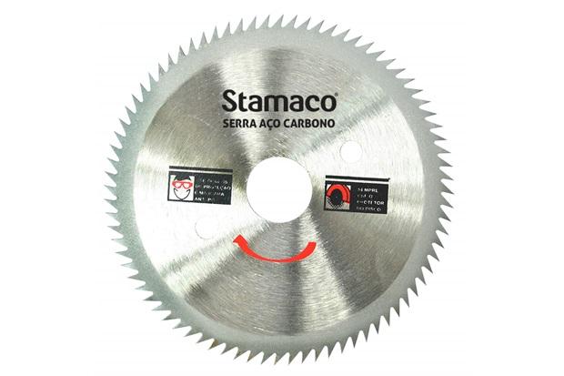Disco de Serra em Aço Carbono Serramax 105mm (4.3/8'') com 80 Dentes - Stamaco