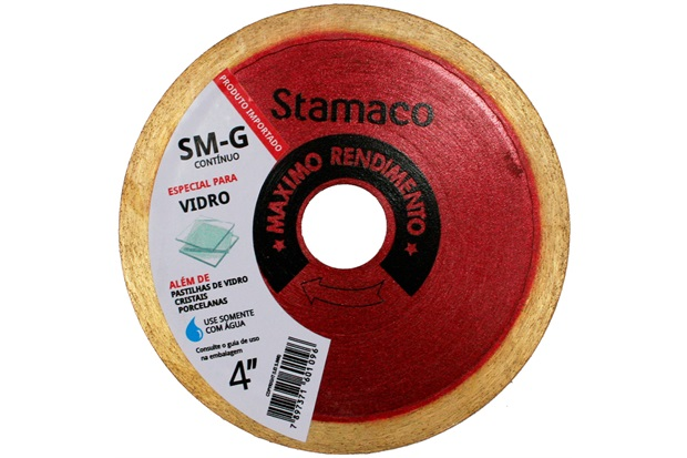 Disco Diamantado para Vidro 105x20mm - Stamaco