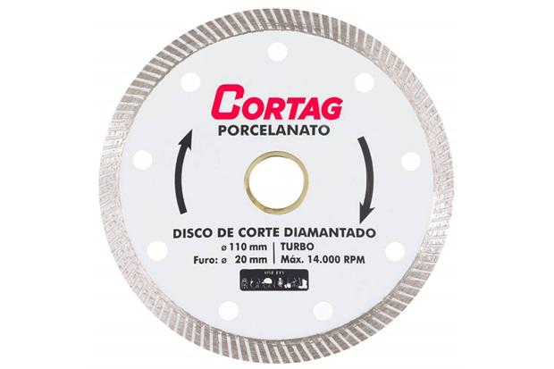 Disco Diamantado Porcelanato 110mm - Cortag
