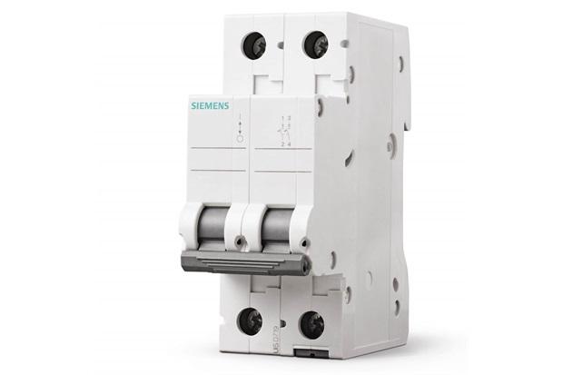 Disjuntor 2p Curva C 10a Branco - Siemens