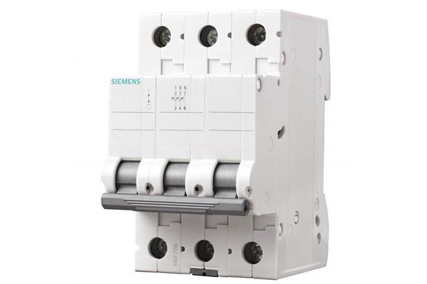 Disjuntor 3p Curva C 32a Branco - Siemens