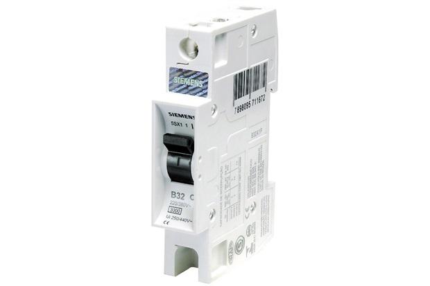 Disjuntor Din Curva B 25a 1p - Siemens