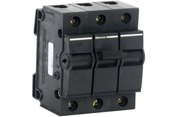 Disjuntor Dqe 3 Polos 90a 220 a 380v           - Eletromar