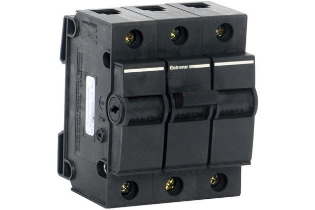 Disjuntor Dqe 3p 10a 220 a 380v - Eletromar