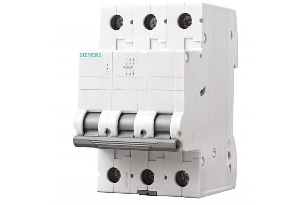 Disjuntor Tripolar Curva C 63a Branco - Siemens